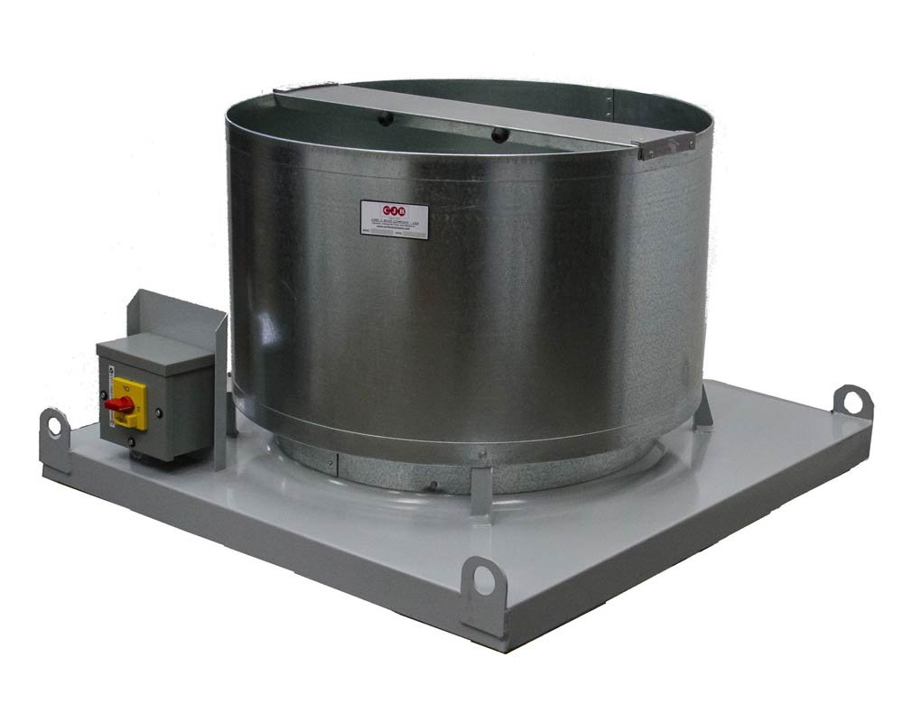 Model AM - Upblast Roof Exhaust Fan - Direct Drive - Carl J Bush ... for Industrial Roof Exhaust Fan  53kxo