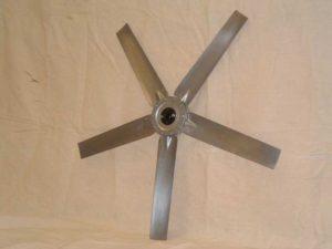 Adjustable Pitch Die Cast Aluminum Fan Propellers