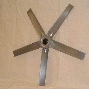 Adjustable Pitch Die Cast Aluminum Fan Propellers