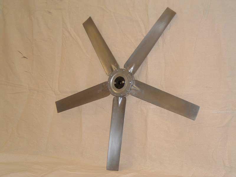 Variable Pitch Fan : Adjustable pitch cast aluminum fan propellers carl j