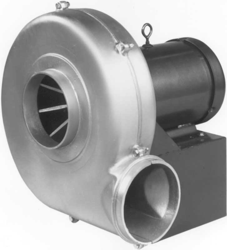 High Pressure Blower : Model hadp cast aluminum high pressure blowers direct