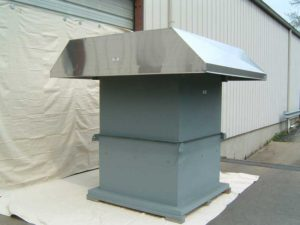 Hooded Roof Exhaust Fans
