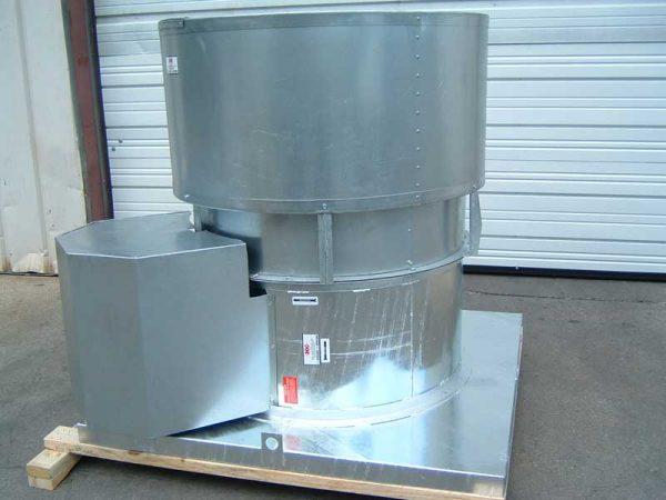 Model-BRV-CS-Hot-Dipped-Galvanized-Upblast-Roof-Exhaust-Fan-Belt-Driven