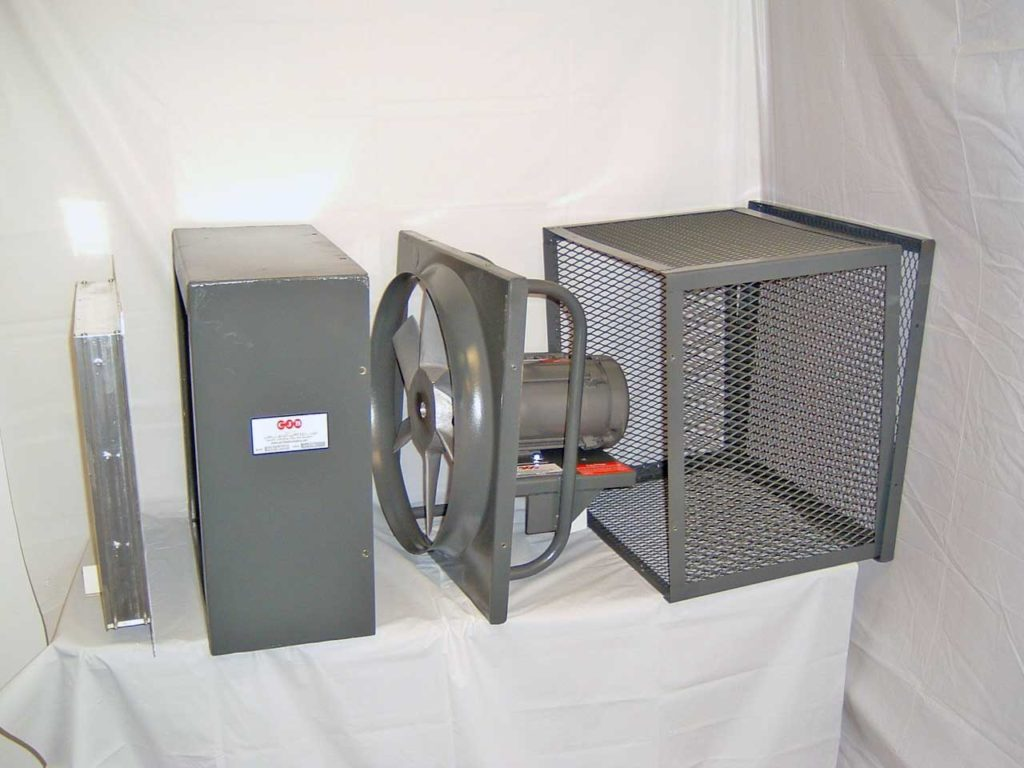 Series 800 And 900 Industrial Exhaust Fans Package