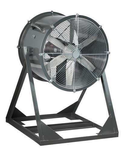 Industrial Cooling Duct : Portable explosion proof man cooling fans carl j bush