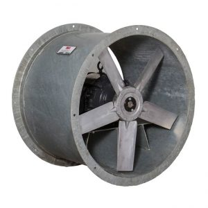 Ocean vessel and ship hot dipped galvanized steel duct fans