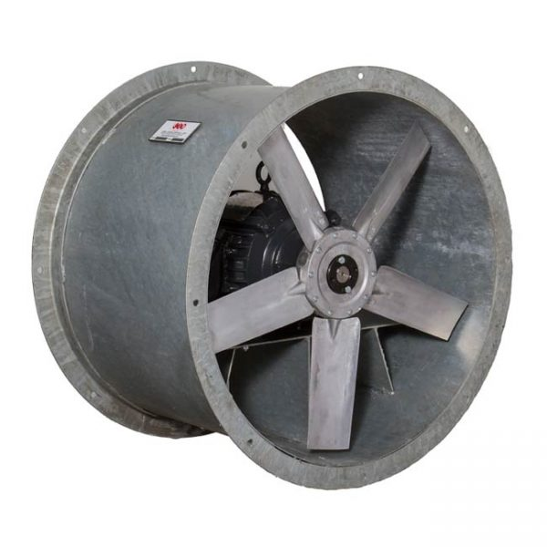Galvanized Steel Duct Fans – Ocean Vessel Salt Corrosion Protection