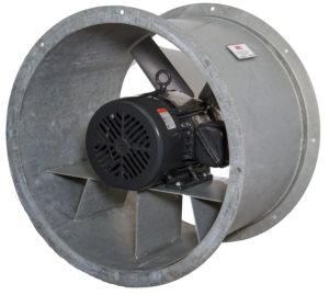 Galvanized Steel Duct Fans - Ocean Vessel Salt Corrosion Protection