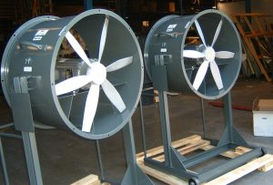 Portable Fans Heavy Duty Steel Mill Foundry & Forge