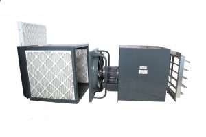 CUBE Paint Booth Wall Exhaust Fan with 3-Filters