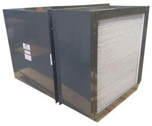 Model CAF-920-3-HEPA Filtered Wall Fan 2