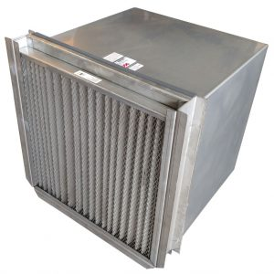 Filtered Stainless Steel Wall Exhaust or Supply Fans. Washdown Duty with Stainless Steel Filter.